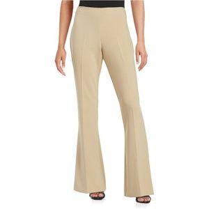 Trina Turk Flat Front Wide Leg Trousers